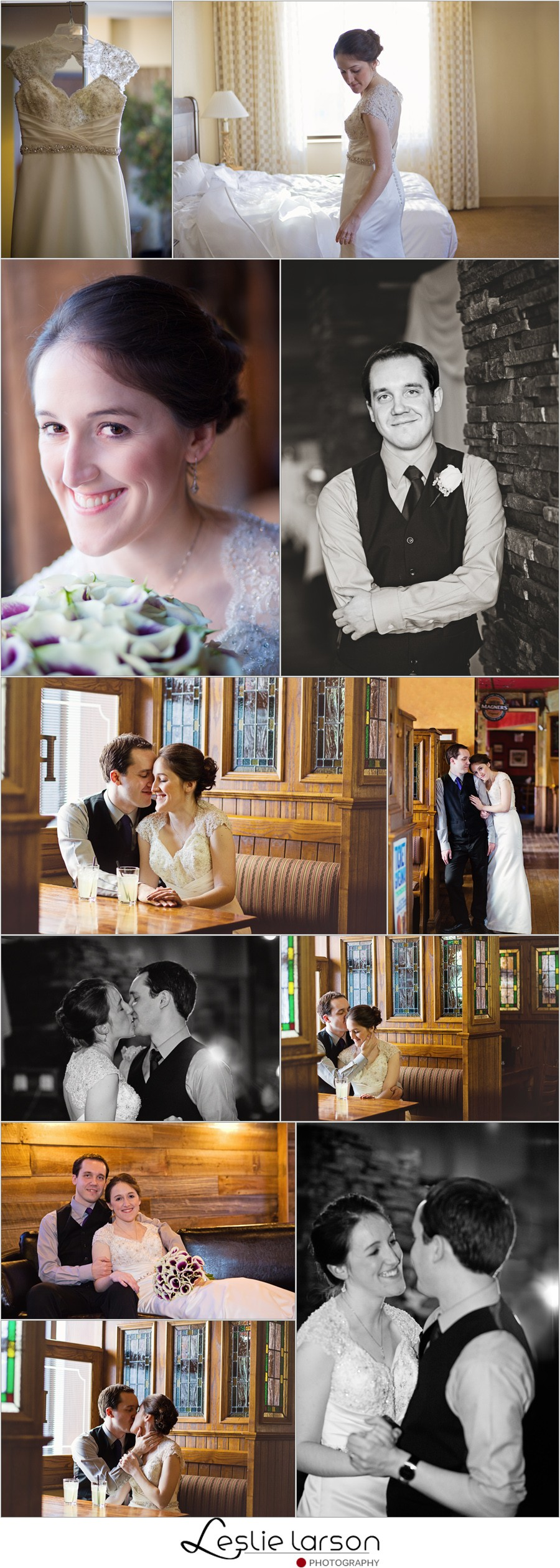 Christina and matt married at stellas fish cafe in for Stellas fish cafe