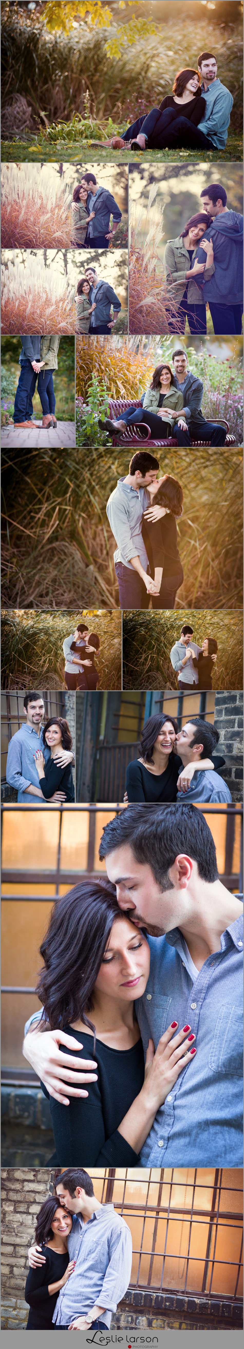 Ashley engagement session loring park minneapolis