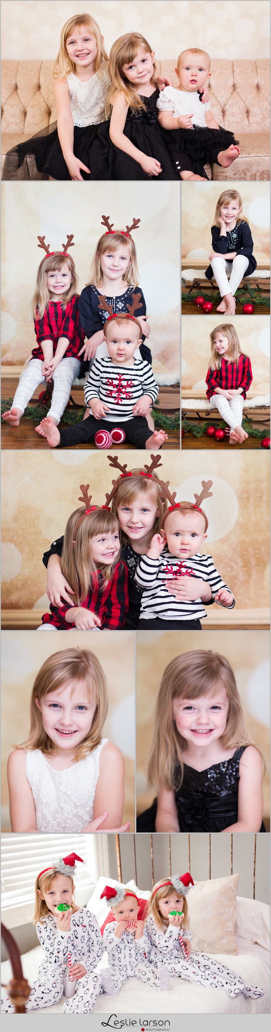 3 sisters studio semple mansion christmas leslie larson photography