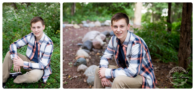 Springbrook Nature Center Senior Potraits 3