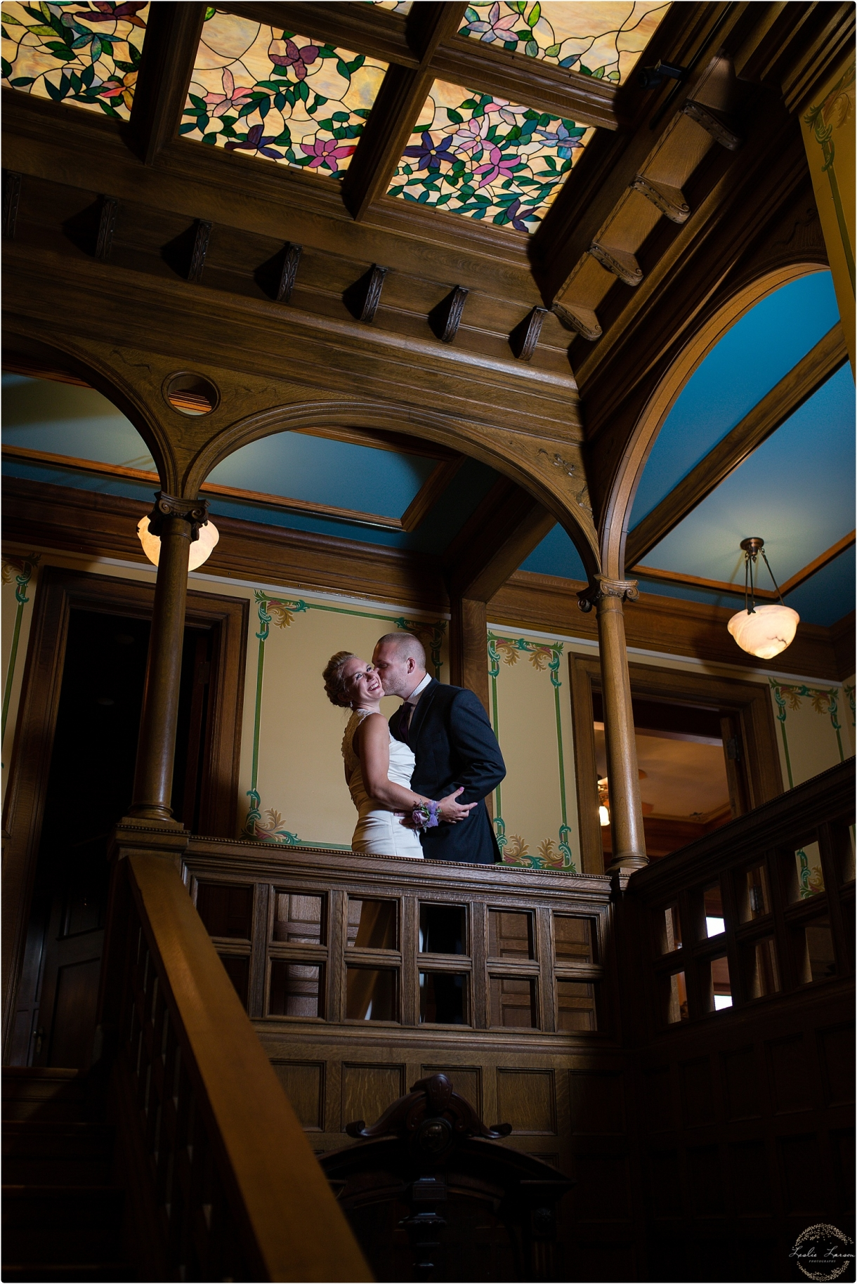 van-dusen-wedding-stairs