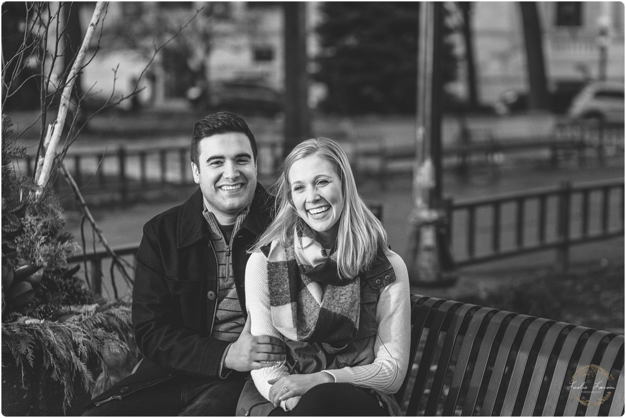 St Paul engagement landmark center Leslie Larson Photography 3