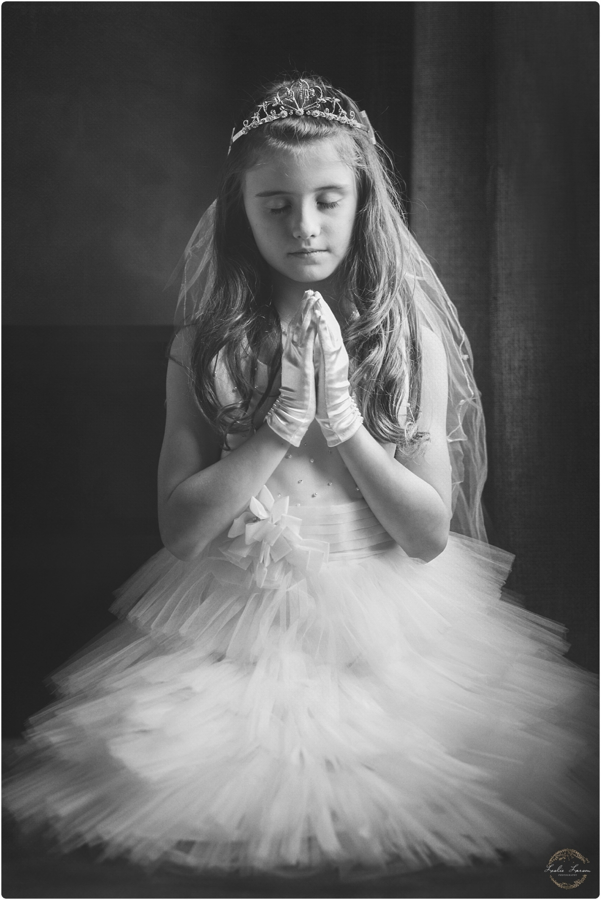 first communion leslie larson photography