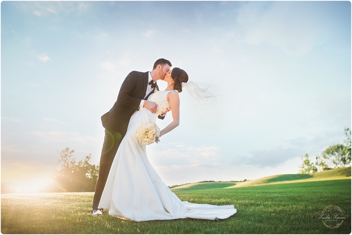 The Refuge Wedding Golf Course Oak Grove MN Leslie Larson Photography 1