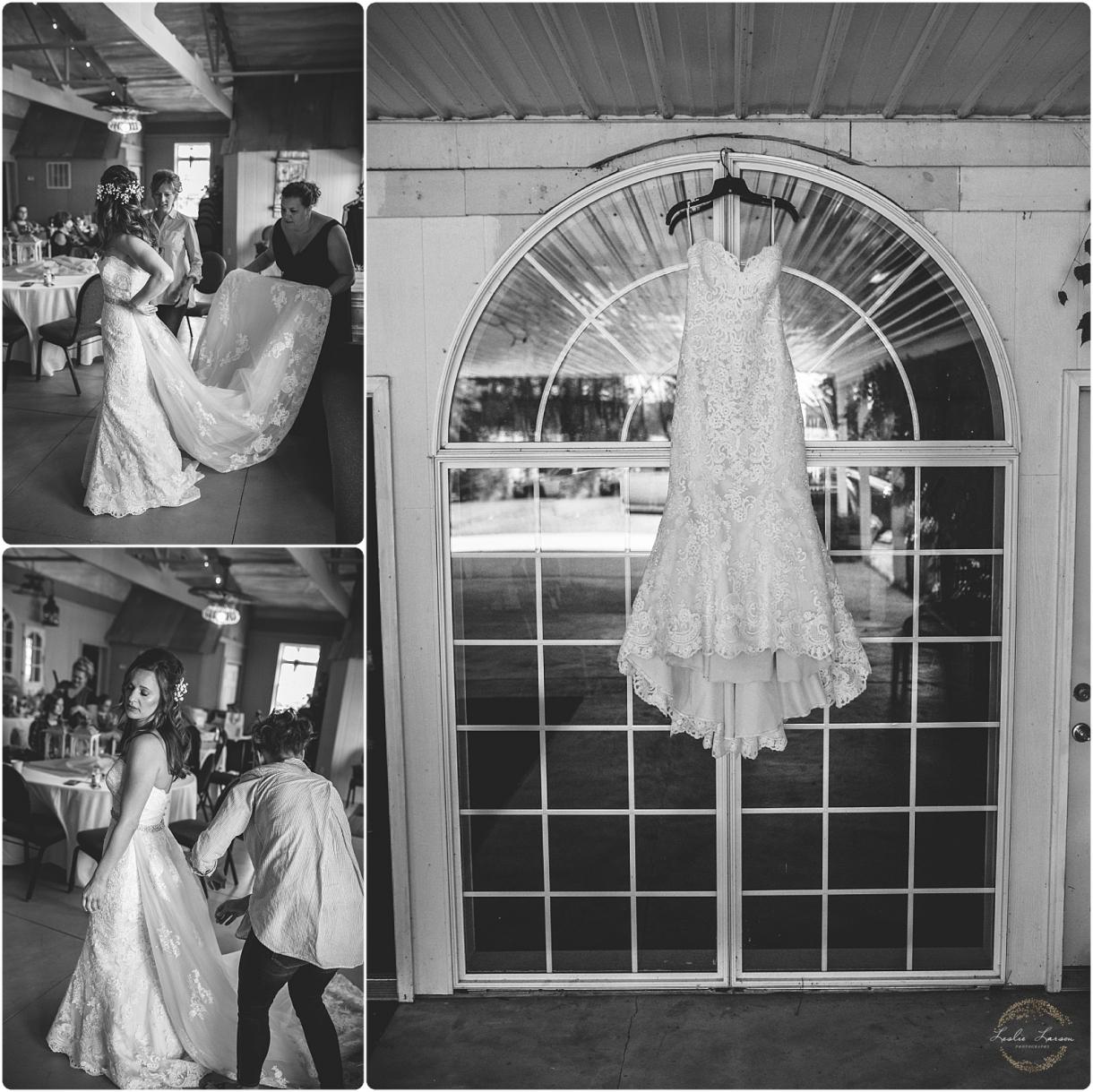 barn wedding mn leslie larson photography